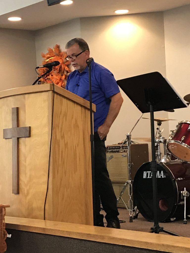 Pastor David Jones